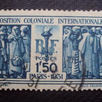 Франция 1931г. гаш.
