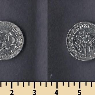 Нидерландские Антилы 10 центов 2012