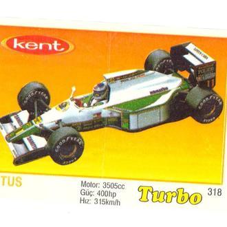 Вкладыш от жвачки Turbo №318 Lotus