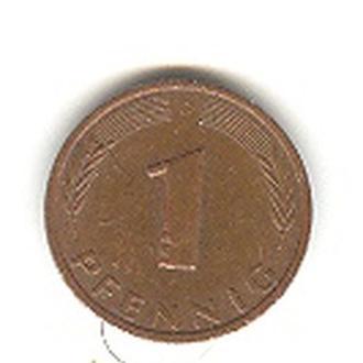 1 пфенниг 1977 Д