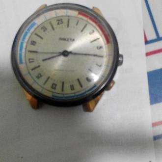 часы Ракета на 24 часа 2623 н идут но останавливаются 06094