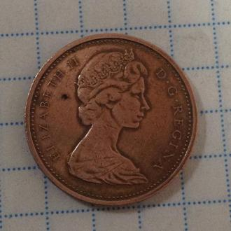 КАНАДА 1 цент 1974