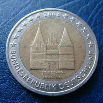Германия 2 евро 2006