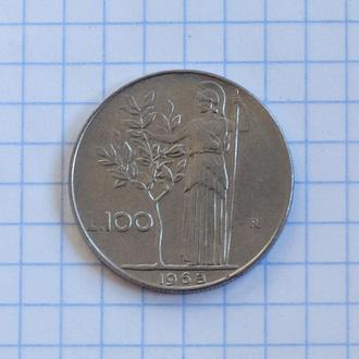 Италия 100 лир