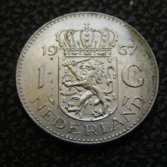 1 гульден 1967 Нидерланды