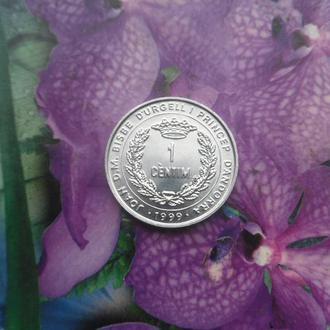 Андора 1центим 1999г