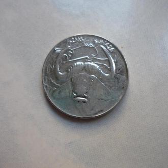 Алжир 1 динар 2005 фауна