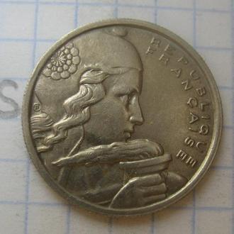 ФРАНЦИЯ. 100 франков 1954 года.