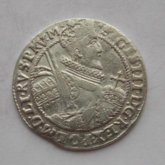 Орт Коронний 1621 року, Сігізмунд III Ваза. Срібло.