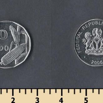 Нигерия 50 кобо 2006