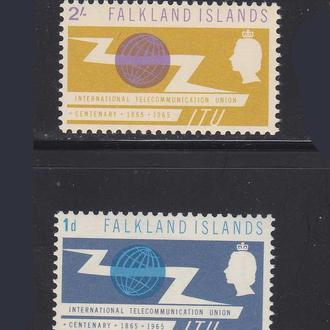 Фолклендские о-ва  1965 г  MNH -
