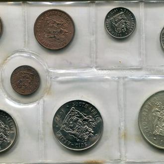 ЮАР 1972 Официальный набор UNC серебро