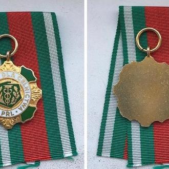 Медаль  Za zasługi dla celnictwa PRL
