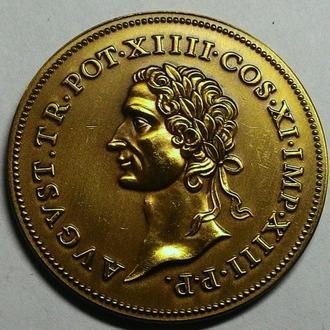 Германия медаль 1985 год Аугсбург!! дм 41 мм.  ОТЛИЧНАЯ!!!