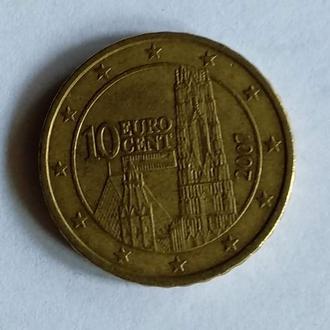 10 Евроцентов, Австрия, 2007