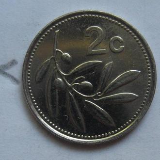МАЛЬТА 2 цента 2005 года.