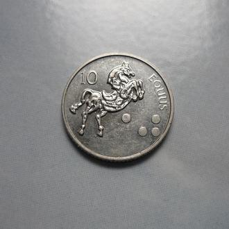 Словения 10 толаров 2002