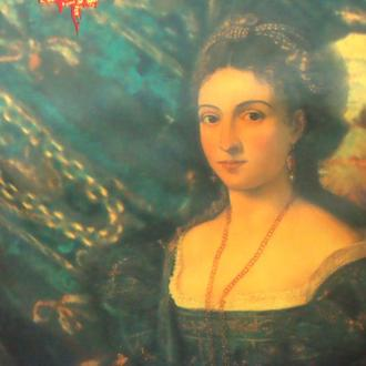 платок Женский портрет