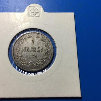 1 марка 1874 года.