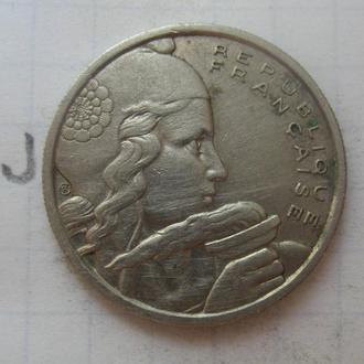 ФРАНЦИЯ. 100 франков 1955 года.