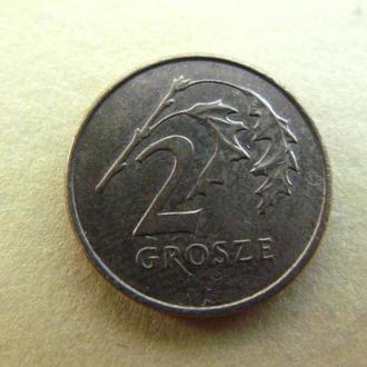 Польша 2 гроша 2 гроше 1997