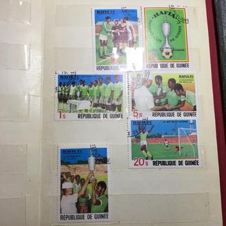 Гвинея 1979 год.ФУТБОЛ.