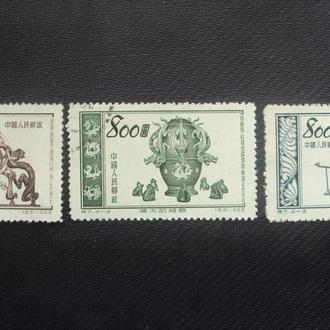 Китай 1953г.гаш.