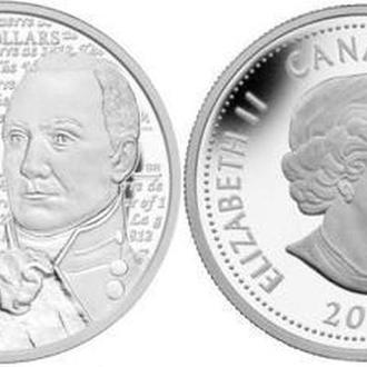 Shantaaal, Канада 25 центов 2012, Брок (цвет)