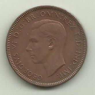 Великобритания Георг VI 1/4 пенни (фартинг) 1946 XF+