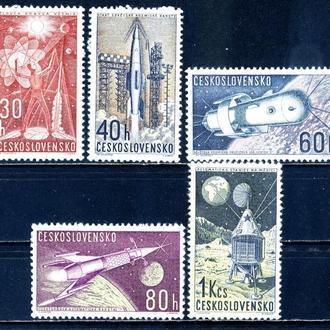 Чехословакия. Космические исследования ** 1962 г.