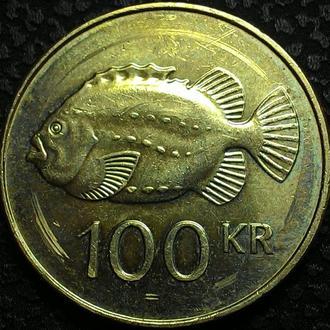 Исландия 100 крон  2011 год