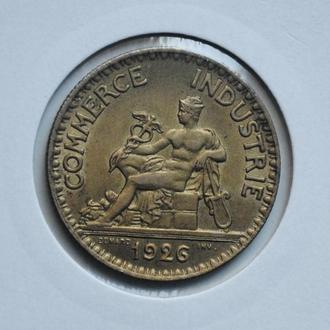Франция 2 франка 1926 г., РЕДКИЙ ГОД + СОСТОЯНИЕ