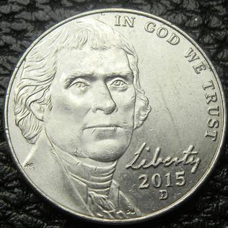 5 центів 2015 D США