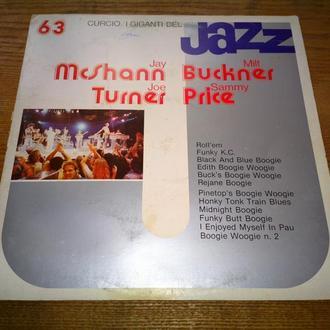 Виниловая пластинка I Giganti Del Jazz. Jay McShann. Milt Buckner. Joe Turner. Sammy Price. - Ex.