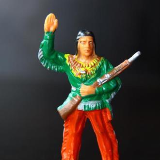 индейцы ковбои ГДР ( №064) Мягкая Резина