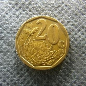 20 центов ЮАР 2009