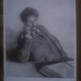 Открытка Портрет Шмаровина  Степанов А. С. 1958 г.
