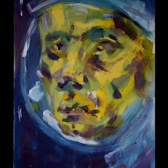 Картина маслом Космонавт