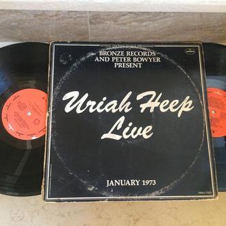 Uriah Heep – Uriah Heep Live  ( USA ) (2xLP)   LP