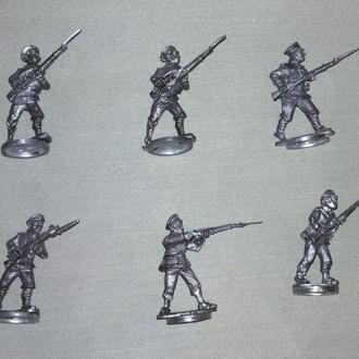 Русская пехота в летней форме, 1914-1920, 28 мм, олово