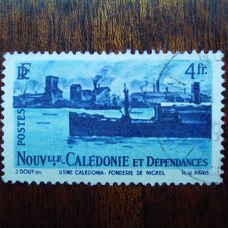Новая Каледония.1948г. Корабель.