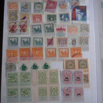 австро-венгрия  59  документные марки