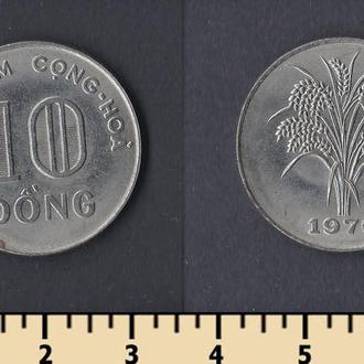 Южный Вьетнам 10 донг 1970