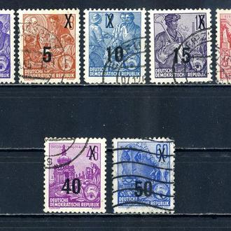 ГДР. Стандарт (серия без 1 м.) 1954 г.