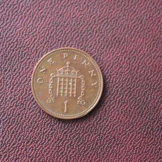 Великобритания. 1 пенни 2005г.