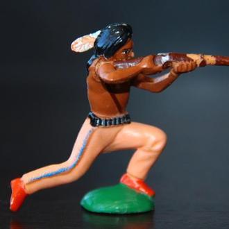 индейцы ковбои ГДР ( №022) Мягкая розовая Резина