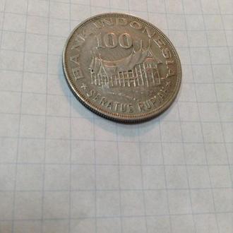 ИНДОНЕЗИЯ, 100 рупий 1978