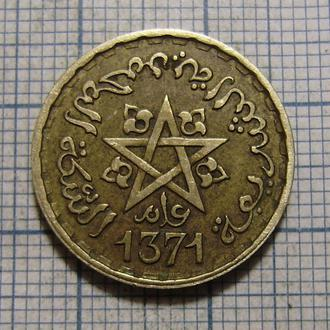 Марокко, 10 франков 1371 г (1951)