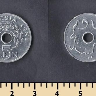 Индонезия 5 сен 1954