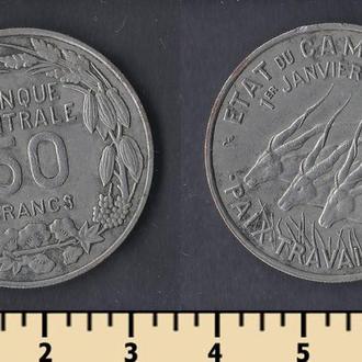 КАМЕРУН 50 ФРАНКОВ 1960